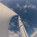 Katabatic with all sails out in the Solent