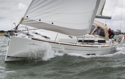 Katabatic on her way to Cowes