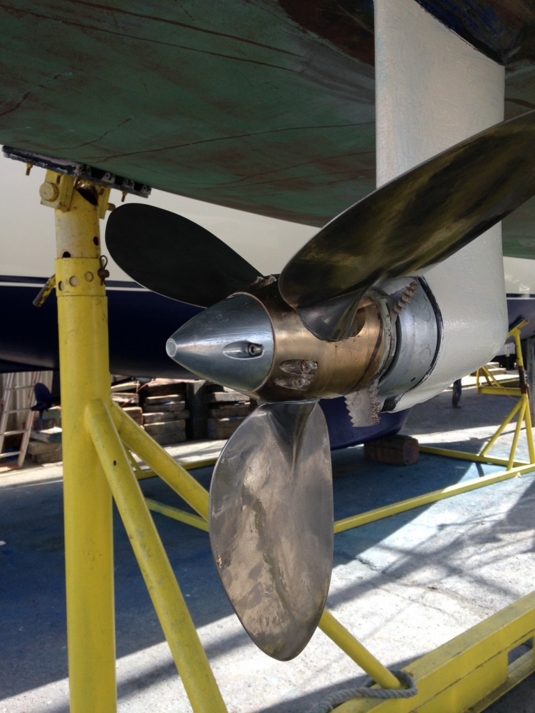 Katabatic's feathering propeller